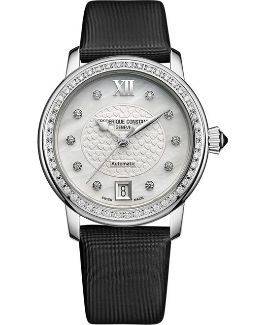 Frederique Constant Slimline FC-303WHD2PD6 Diamond 34mm