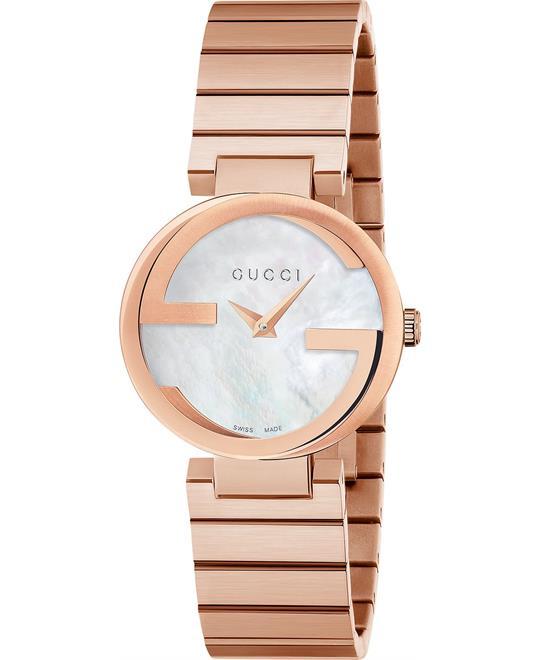 đồng hồ Gucci Interlocking G Swiss Women's Watch 29mm