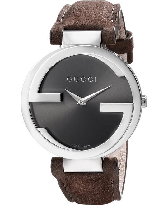 Gucci Interlocking   Women's Brown Watch 37mm