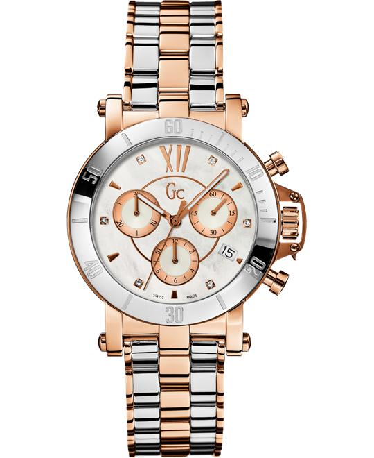 GUESS GC Femme with Diamonds Timepiece, 37.5mm