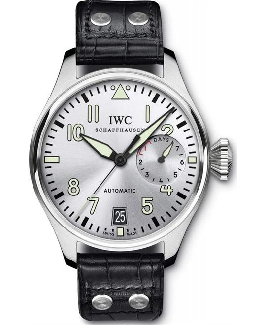 IWC Big Pilot IW500906 Rhodium Watch 46.2mm