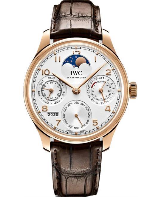 đồng hồ nam automatic IWC Portugieser Prepetual IW503302 Calendar Automatic 44.2mm