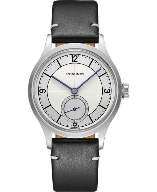 Longines Heritage L2.828.4.73.0 Small Seconds 38.5