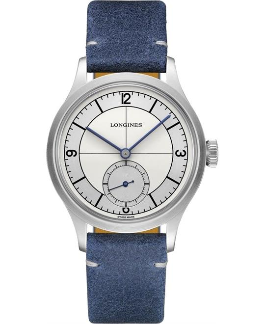Longines Heritage L2.828.4.73.2 Small Seconds 38.5mm