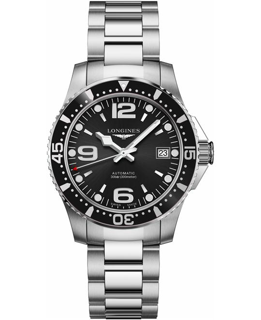 LONGINES HydroConquest L3.741.4.56.6 Automatic Watch 39mm