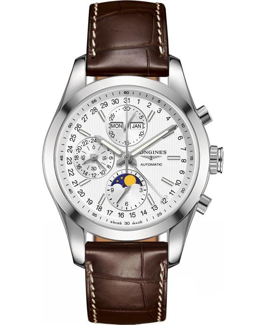 LONGINES L2.798.4.72.3 Conquest Auto Watch 42mm