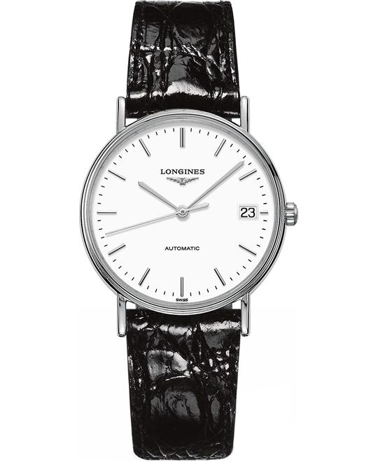 Longines Presence Auto L4.821.4.12.2 Watch 34,5mm