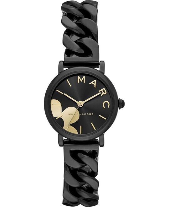 Marc Jacobs Classic Black IP Watch 28mm