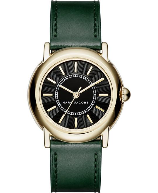 Marc Jacobs Courtney Dark Green Women's Watch 34mm