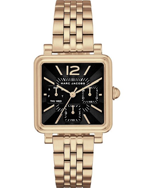 Marc Jacobs Vic Women Gold Tone Watch 30mm
