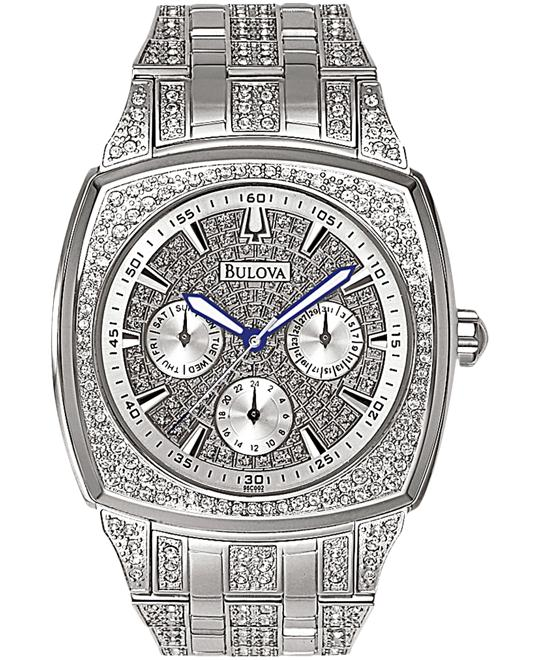 đồng hồ Bulova Men's Crystal Day-Date Collection Watch 40mm
