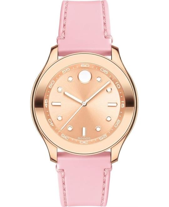 Movado Bold Rose Gold Sunray Watch 38mm