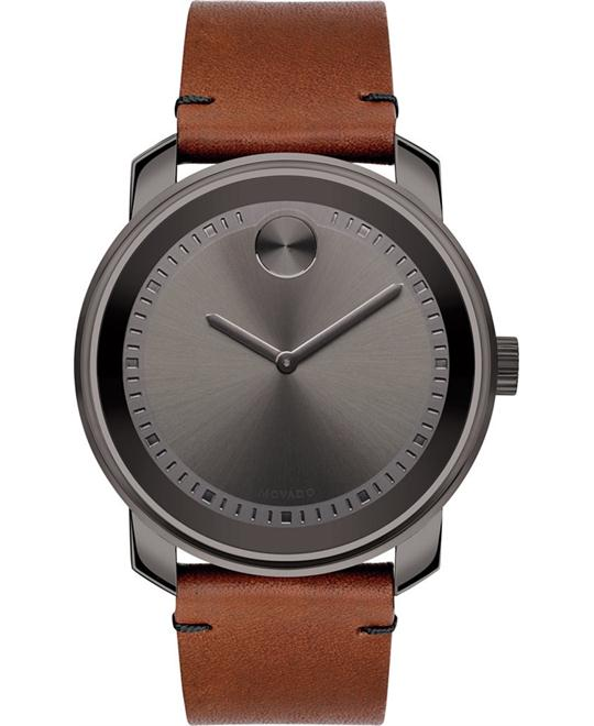 Movado Bold Swiss  Rustic Men's Watch 43mm