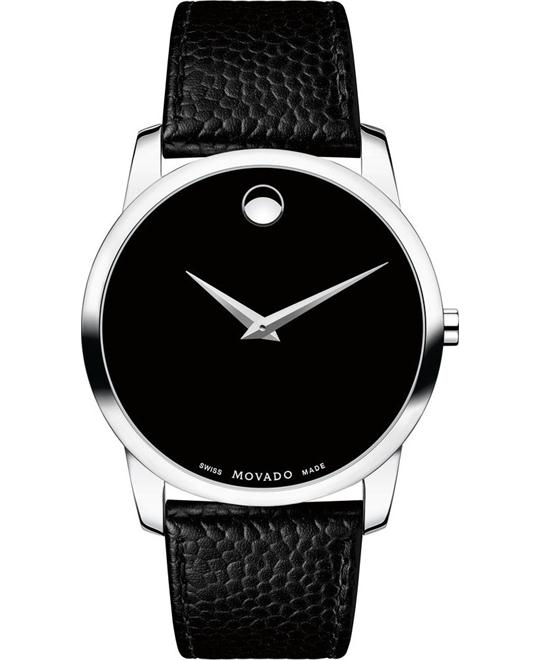 Movado Museum Classic Black Watch 40mm