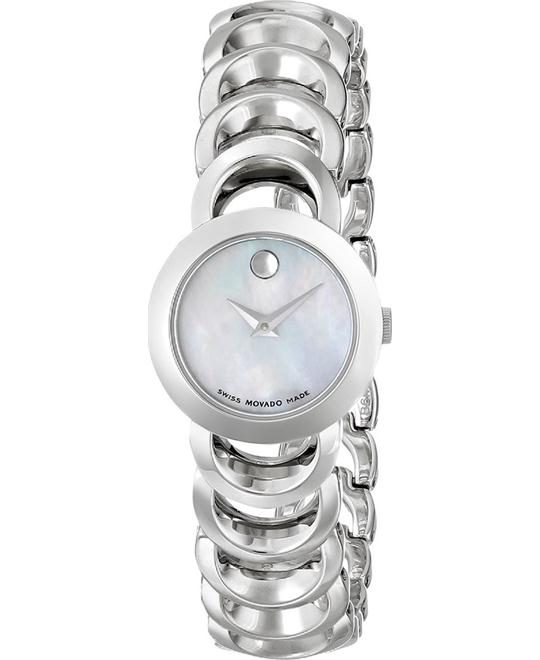 Movado Rondiro  Ladies Moon Bear Watch 22mm