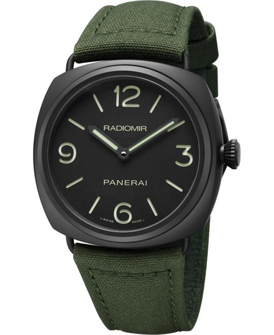 Panerai Radiomir PAM00612 Hand Wind Men's Watch 44mm
