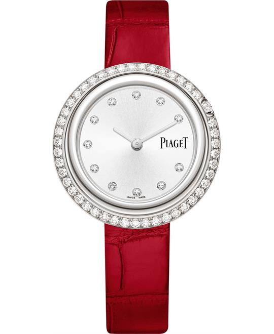 Piaget Possession G0A43094 Diamond Silver Dial Watch 34mm
