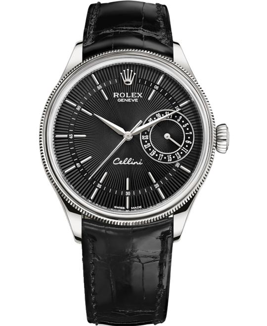 Rolex Cellini Date 50519-0007 Watch 39mm