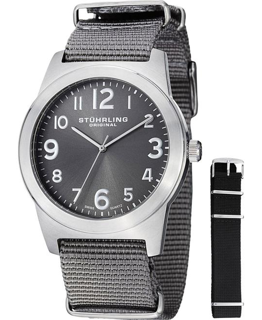"Stuhrling Original 409.SET.02 Men's ""Tuskegee Contrail"", 42mm"