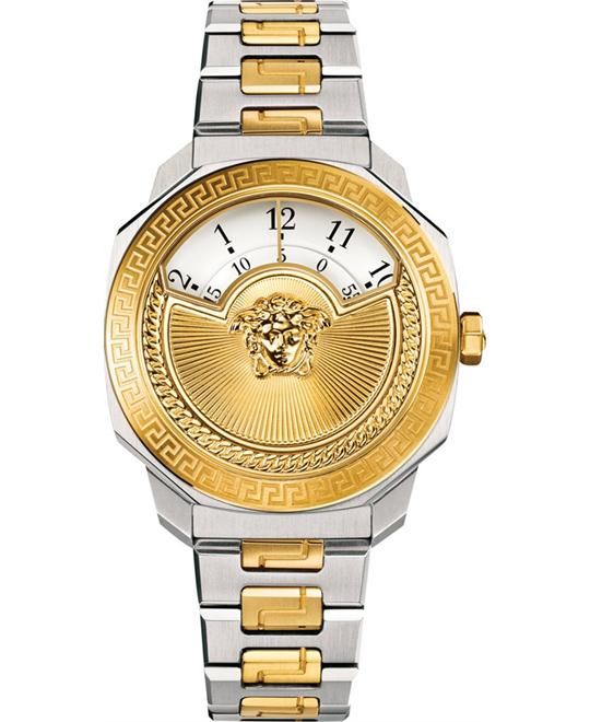 Versace Dylos Icon Swiss Gold IP Watch 38mm
