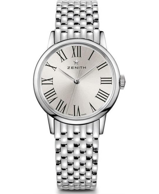 Zenith Elite Lady Automatic Silver Dial Watch 33mm
