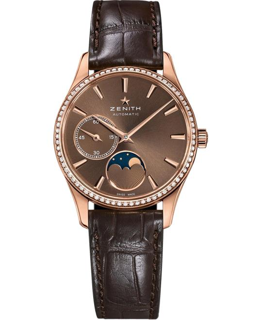 Zenith Heritage Automatic Brown Watch 33mm
