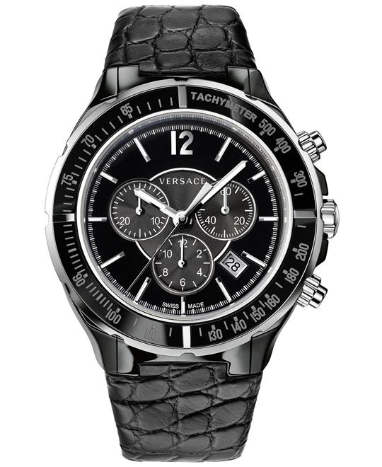 Versace Dv-One Chronograph Swiss Watch 44mm