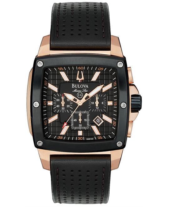 Bulova Men's Chronograph Black Watch 41mm