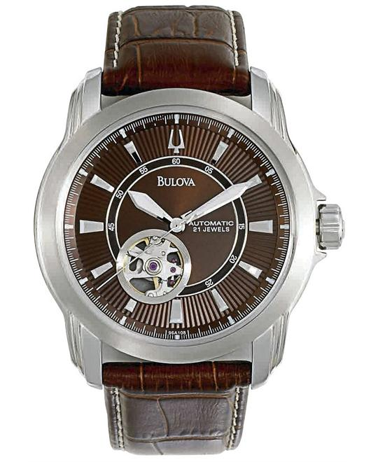 Bulova BVA Men's Brown Watch 41mm