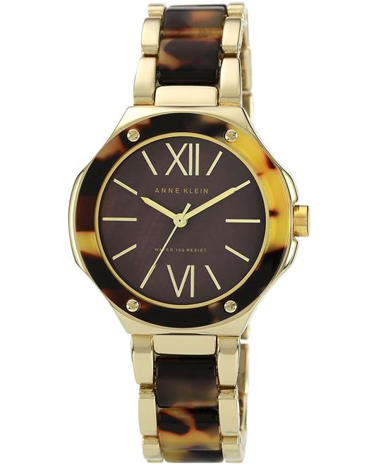 Anne Klein Women's  Plastic and Gold Bracelet 36mm