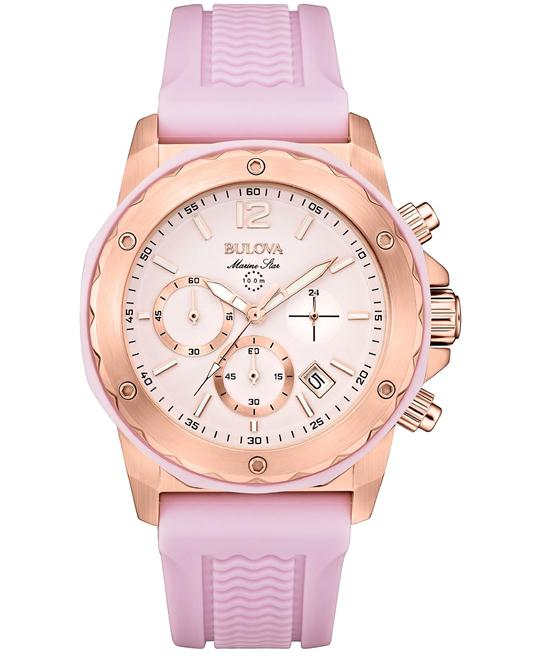 Bulova  Marine Star Women's Silicone, 36mm