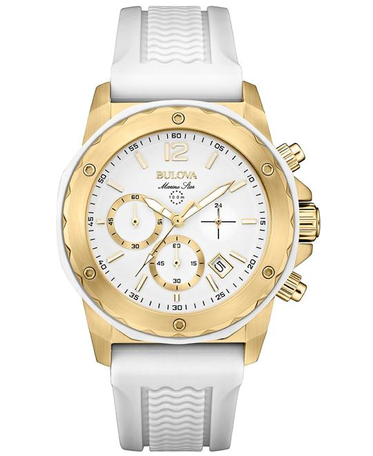 Bulova Marine Star Silicone Watch 36mm
