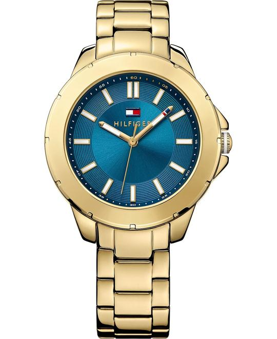 Tommy Hilfiger Women's Gold Stainless 38mm