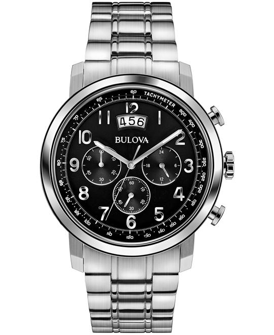 Bulova Chronograph Men's Watch 42mm
