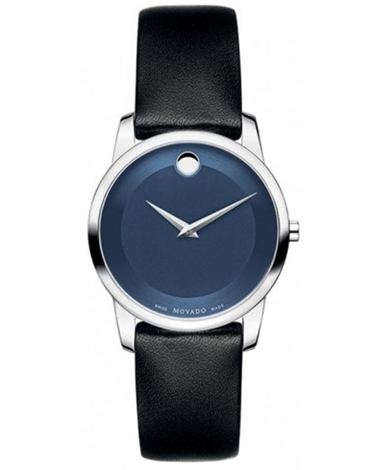 Movado Museum Classic Calfskin Watch 28mm