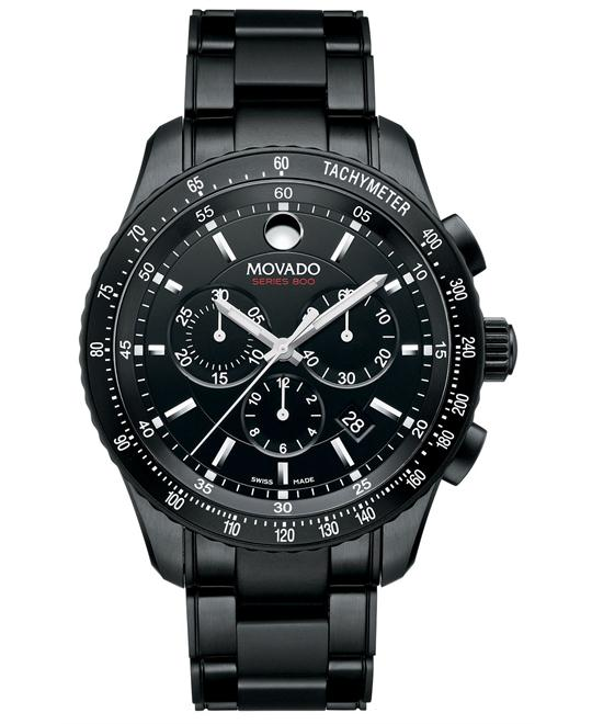 Movado Series 800 Swiss Chronograph Watch 42mm
