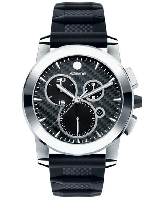 Movado Vizio Anthracite Dial Mens Watch 45mm