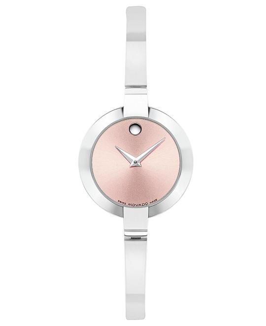 Movado Bela Women's Pink-Dial Watch 25mm