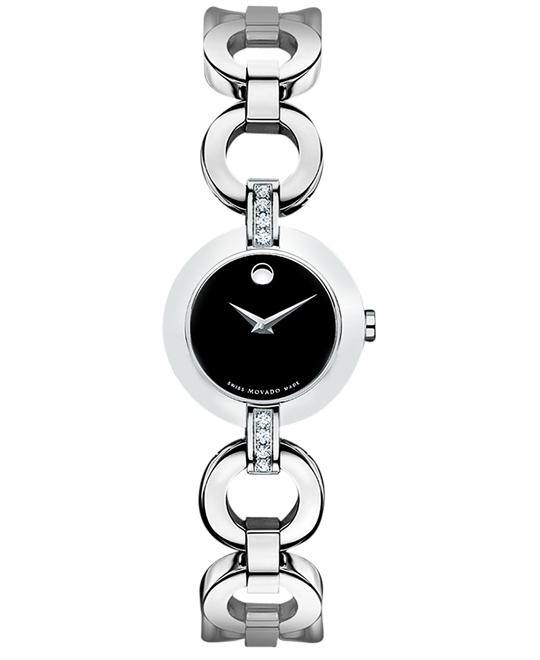 Movado Swiss Diamond (1/6 ct. t.w.) Watch 24.5mm