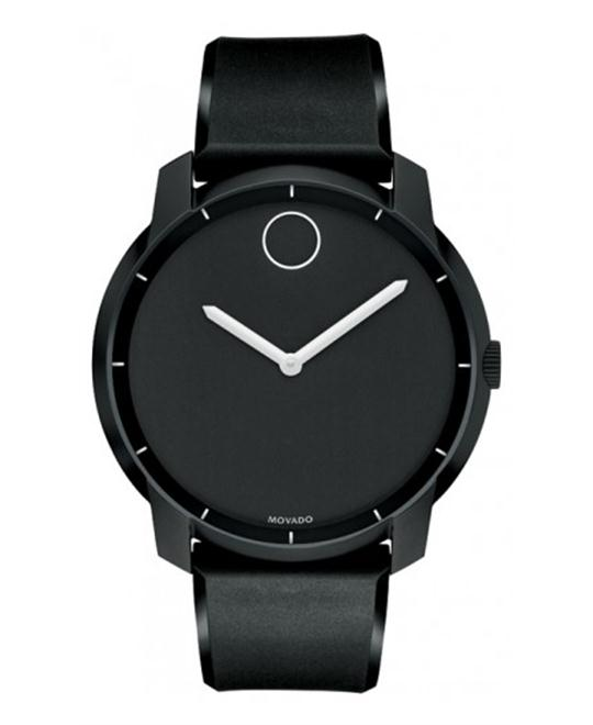 Movado Unisex Swiss Bold Polyurethane Watch 44mm