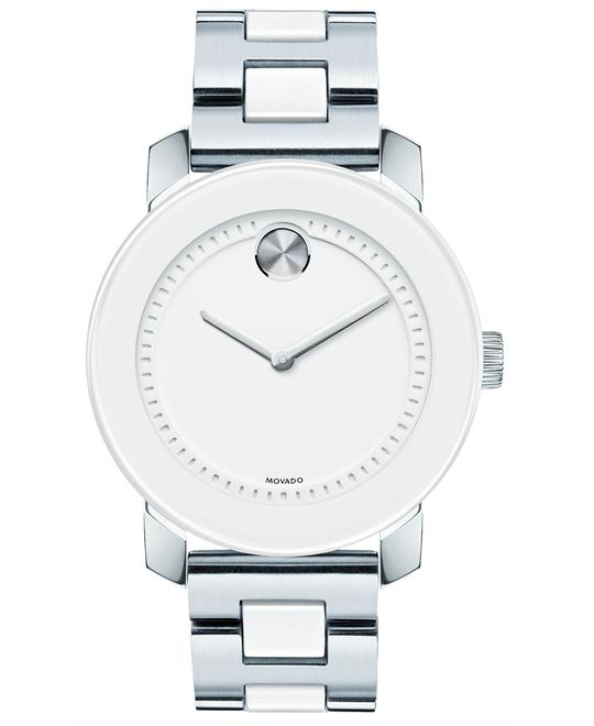 Movado Bold White Dial Men's Watch 36mm