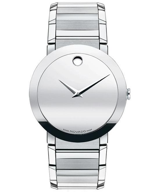 Movado Men's Swiss Sapphire Watch 38mm