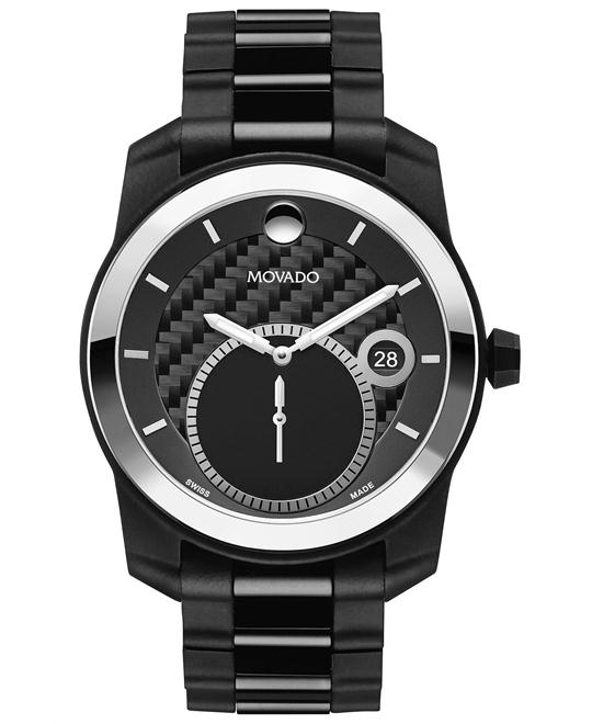 Movado Vizio Swiss Chronograph Watch 42mm