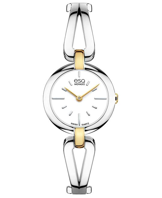 ESQ Movado Women's Swiss Corbel Watch 24mm