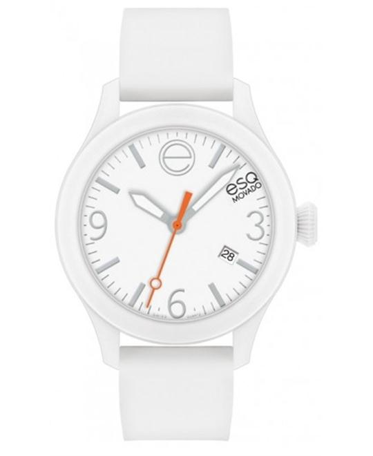 ESQ Movado Unisex Swiss ESQ One Silicone Watch 43mm