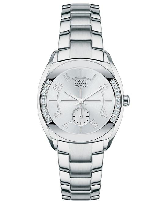 ESQ Movado Swiss Origin Diamond Watch 28mm