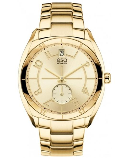 ESQ Movado Women's Swiss Origin Gold Watch 36mm