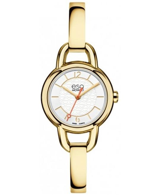 ESQ Movado Women's Swiss Status Gold Watch 25mm