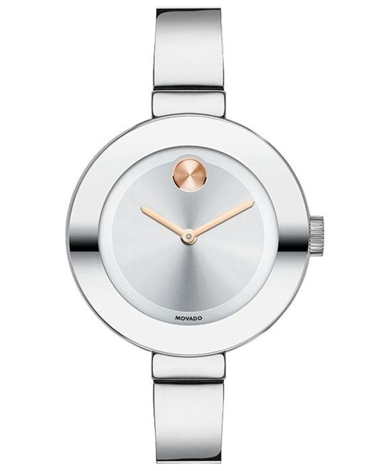 Movado Women's Swiss Bold Stainless Steel Watch 34mm