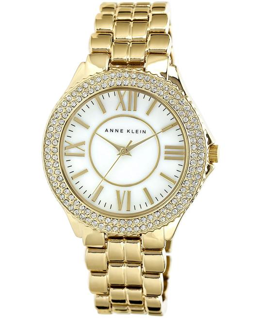 Anne Klein Women's Gold Bracelet Watch 38mm